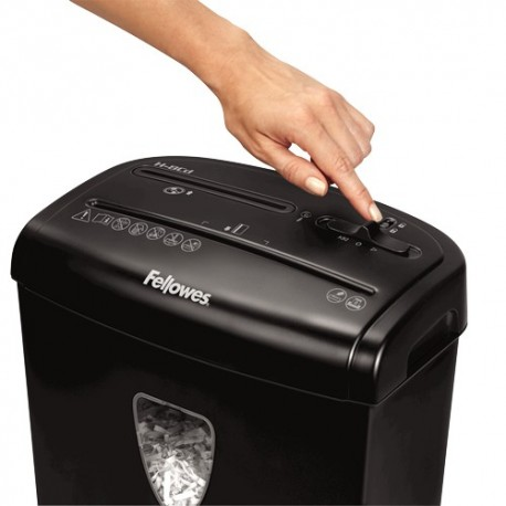 Fellowes H-8Cd Cross-Cut Shredder