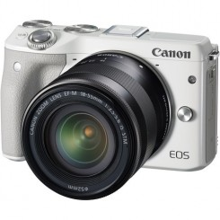 Canon EOS M3 Mirrorless Digital Camera With 15-45mm EF-M Lens