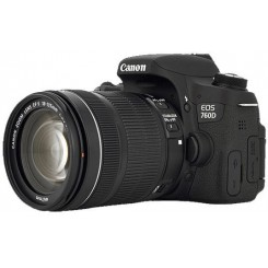Canon EOS 760D / Rebel T6s Kit 18-135 IS STM Digital Camera