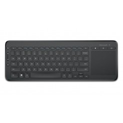 Microsoft Keyboard Wireless All in one Media Touch