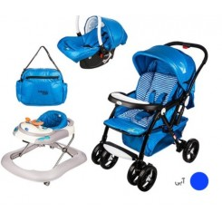 Baby Land A-68 Stroller And Carrier Set