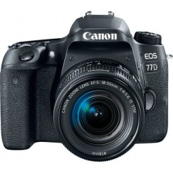 Canon EOS 77D Digital Camera With 18-55mm USM Lens