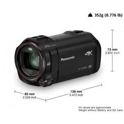 Panasonic Camcorder HC-VX980 Video Camera