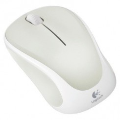 Logitech M317 Wireless Mouse White