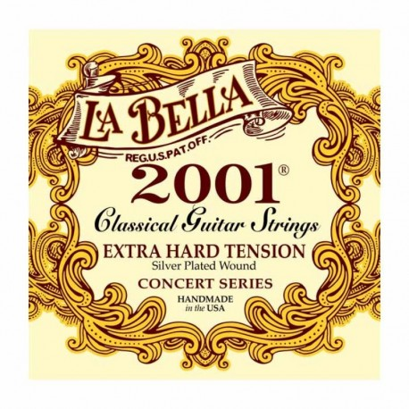La Bella 2001 Medium Tension Classical Guitar Strings