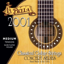 La Bella 2001 Hard Tension Classical Guitar Strings