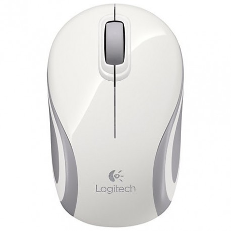 Logitech M187 Wireless Mouse White dodoak