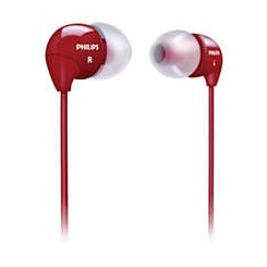 هدفون Philips SHE 3590 Red