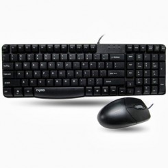 Rapoo N1820 Wired Mouse And keyboard